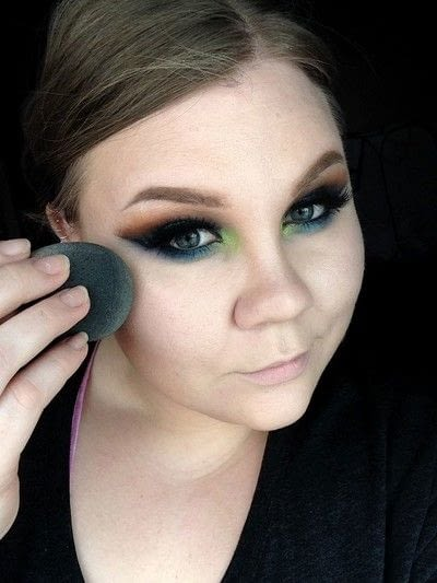 How to create foundation makeup. Soft Defined And Glowing Face Makeup - Step 6