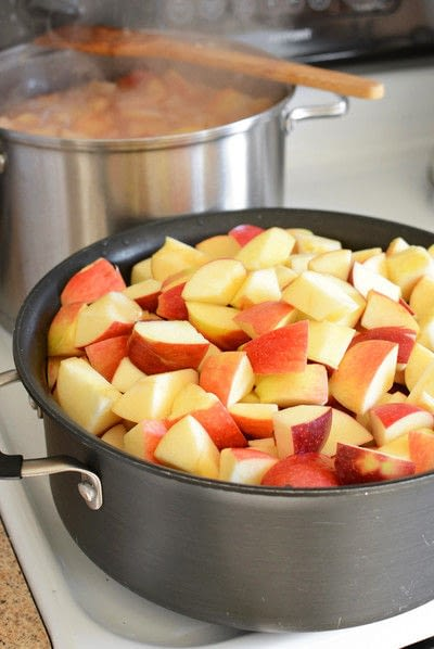 How to cook apple sauce. No Sugar Added Canned Applesauce - Step 4
