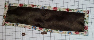 How to sew a fabric pouch. Mobile Phone Pouch - Step 2