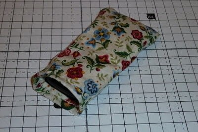 How to sew a fabric pouch. Mobile Phone Pouch - Step 4