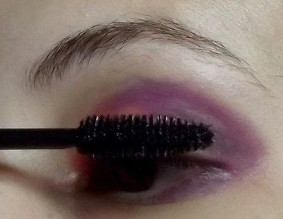 How to create a two toned eye makeup look. For Love - Step 3
