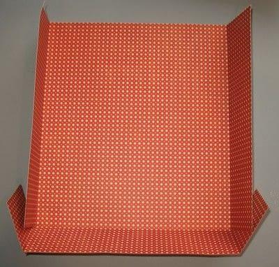 How to make a gift bag. Box Style Gift Bag - Step 9
