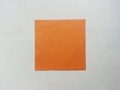 How to make a paper model. Diy Fun Paper Leaf - Step 1