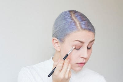 How to create an eye makeup look. Taylor Swift classic look - Step 3