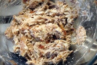 How to cook a sandwich. Smoked Mackerel Sandwich Filler  - Step 2
