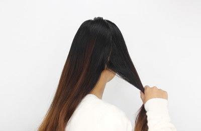 How to style a braided bun. Rope Braid Bun - Step 1