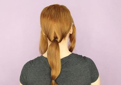 How to style a chignon. Twist Wrap Chignon - Step 5