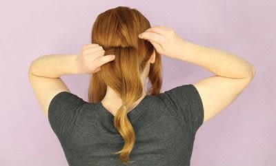 How to style a chignon. Twist Wrap Chignon - Step 6