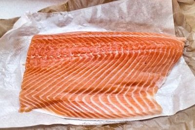 How to cook a salmon dish. Hot Smoked Salmon - Step 1