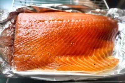 How to cook a salmon dish. Hot Smoked Salmon - Step 7