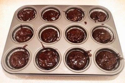 How to bake a cupcake. Borsch Cupcakes - Step 4