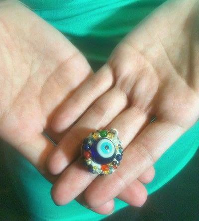 How to mold a clay pendant. Arrow Necklace And Bonus Evileye Pendant With Nunn Designs Crystal Clay - Step 10