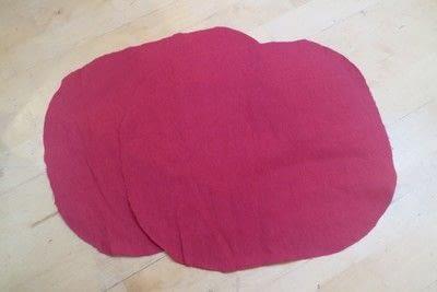 How to make a shaped cushion. Pincushion Cushion - Step 2