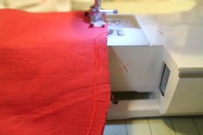 How to make a shaped cushion. Pincushion Cushion - Step 5
