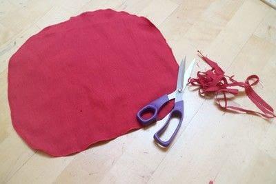 How to make a shaped cushion. Pincushion Cushion - Step 6