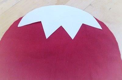 How to make a shaped cushion. Pincushion Cushion - Step 7