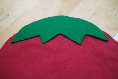 How to make a shaped cushion. Pincushion Cushion - Step 8