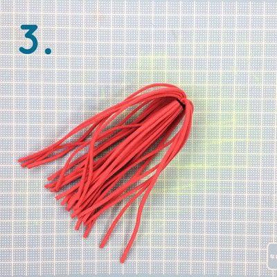 How to make a tassels. Diy Suede Tassels - Step 3