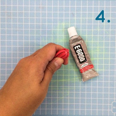 How to make a tassels. Diy Suede Tassels - Step 4