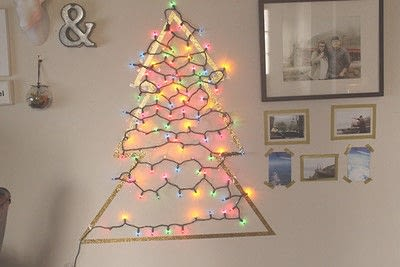 How to make a christmas tree. Home | Decorating A Small Space For The Holidays - Step 5
