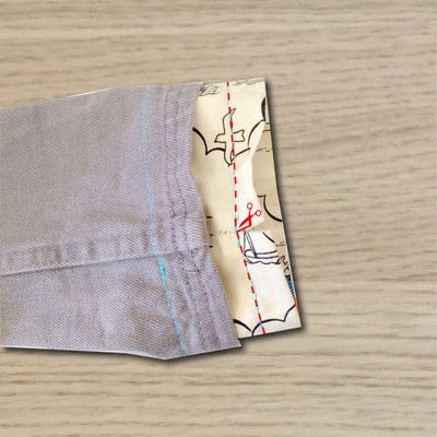 How to make a drawstring pouch. Draw String Bag - Step 5