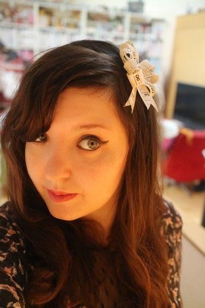 How to make an embellished headband. Snap On Headband - Step 11