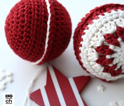 How to make a toy ball. Christmas Ball - Step 8