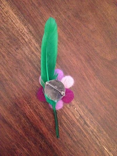 How to sew a fabric flower brooches. Turning Fleece Into Flowers! - Step 7