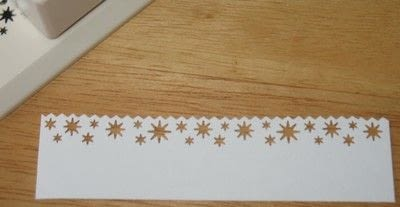 How to make a papercraft. Card Focal Points:  Shapes And Layering - Step 4
