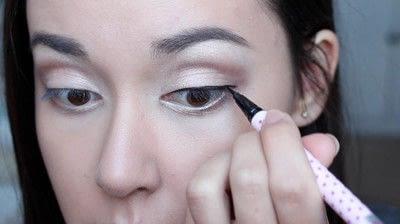 How to create a natural eye makeup. No Makeup Makeup | Brighter Eyes - Step 15