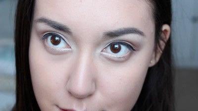 How to create a natural eye makeup. No Makeup Makeup | Brighter Eyes - Step 16