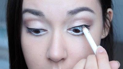 How to create a natural eye makeup. No Makeup Makeup | Brighter Eyes - Step 21