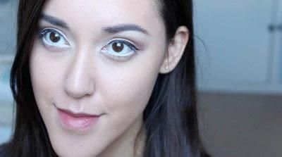 How to create a natural eye makeup. No Makeup Makeup | Brighter Eyes - Step 22