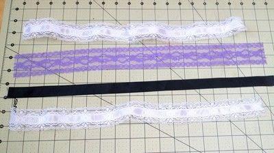 How to make a sock. Lace Cameo Socks - Step 4