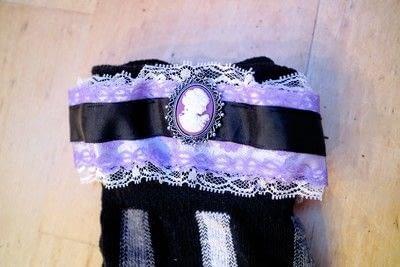 How to make a sock. Lace Cameo Socks - Step 11