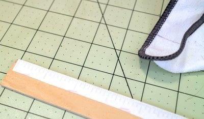 How to make stationery. Diy Ruler - Step 4