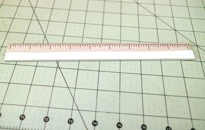 How to make stationery. Diy Ruler - Step 6