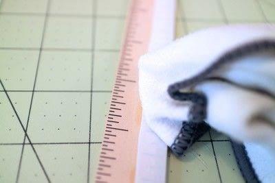 How to make stationery. Diy Ruler - Step 7