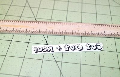 How to make stationery. Diy Ruler - Step 8