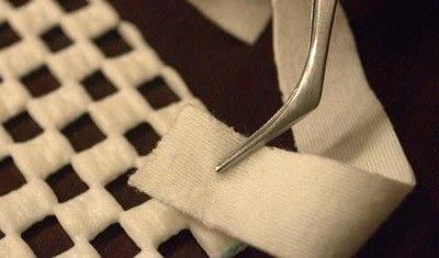 How to make a rag rug. Diy Shag Rag Rug Tutorial - Step 4