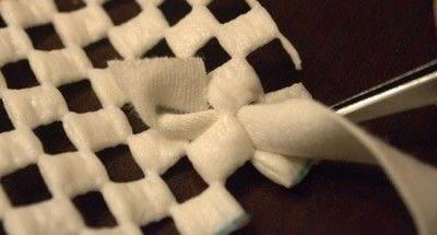 How to make a rag rug. Diy Shag Rag Rug Tutorial - Step 5