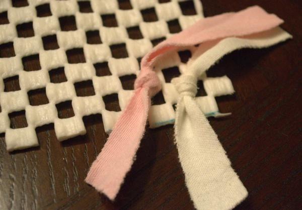 how to make a rag rug tutorial