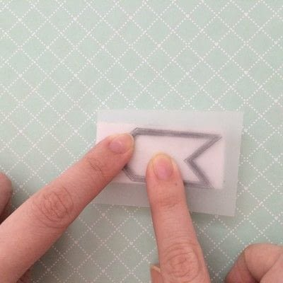 How to make a stamper. Rubber Stamps - Step 2