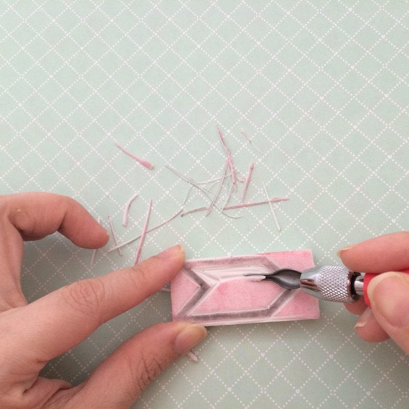 How To Make A Stamper Rubber Stamps Step 3