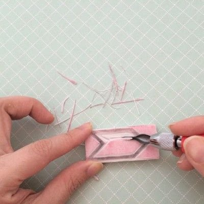 How to make a stamper. Rubber Stamps - Step 3