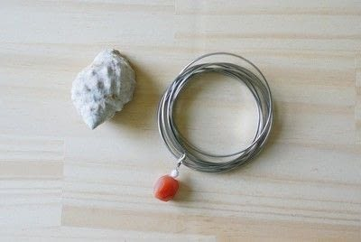 How to make a bangle. Charm For Bangle Bracelet (Diy) - Step 4