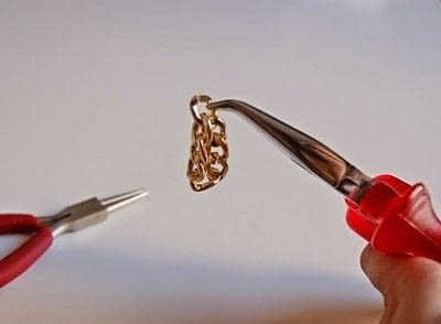 How to make a chain ring. Chained Ring (Diy) - Step 2