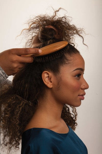 How to style a mohawk hairstyle. Fancy Fauxhawk - Step 3