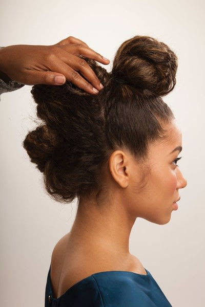 How to style a mohawk hairstyle. Fancy Fauxhawk - Step 13
