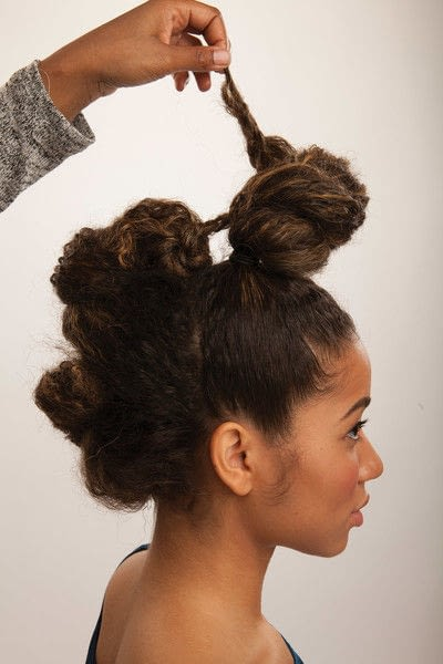 How to style a mohawk hairstyle. Fancy Fauxhawk - Step 14